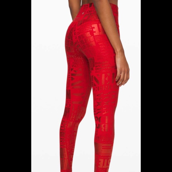 Lululemon luxtreme special edition logo tights